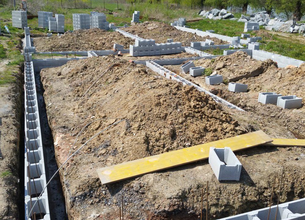 zakládání staveb rodinný dům
